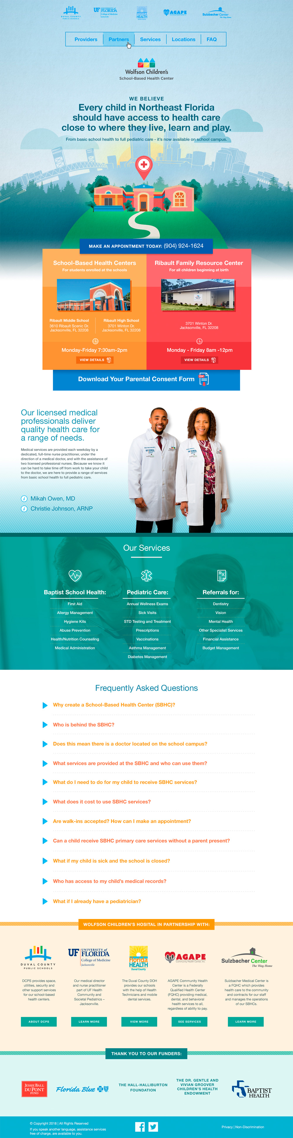 Baptist School Base Health Full Homepage