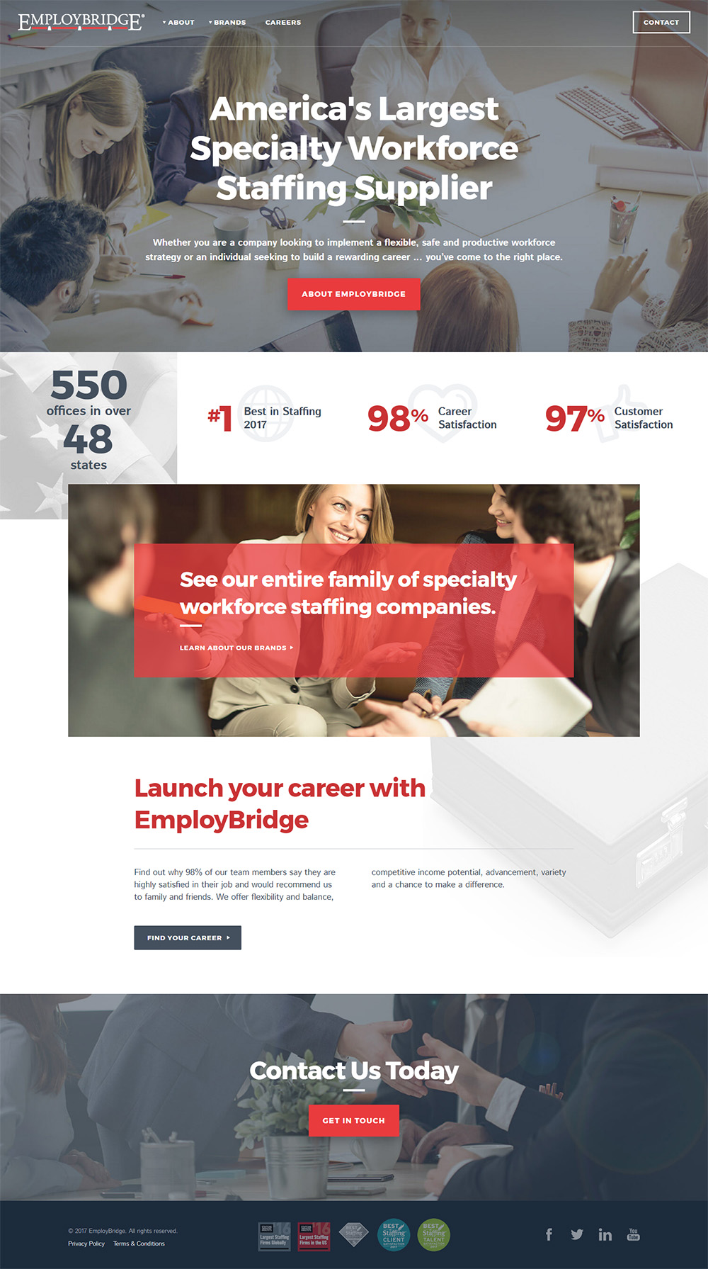 EmployBridge Project Image