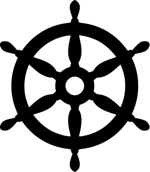 W&O Supply Ship's Wheel