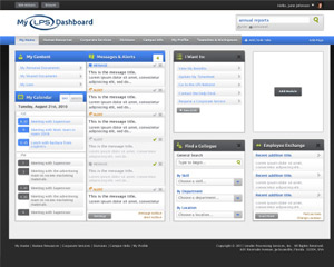 Corporate Intranet Design