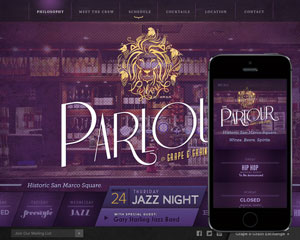Bar & Lounge Web Design